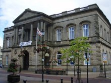 Accrington Town Hall, Lancashire © Graeme Smith